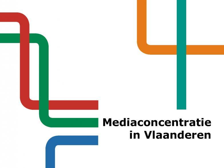 Cover rapport Mediaconcentratie in Vlaanderen 2014