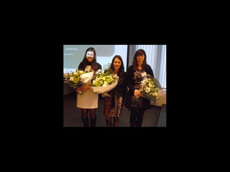 Van links naar rechts: Daphné Depypere, Jana Bens, Femke De Souter